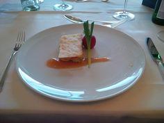 Mille-feuilles de fromage de Gruyère @ Restaurant La Soupière @ Hotel Schweizerhof