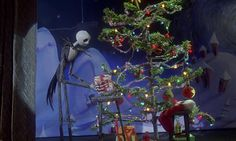 Xmas Stuff For > Nightmare Before Christmas Tree Tattoo