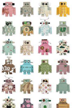 Robots - Kids Wallpaper Ideas & Designs (EasyLiving.co.uk)