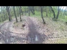 Wet, Sticky clay, Muddy trail, Getting dirty after rain - Făget