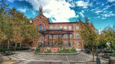 Plaza de Chamberí. Templete de música y Convento de las Siervas de María. Foto: José Luis Aisa Alegre