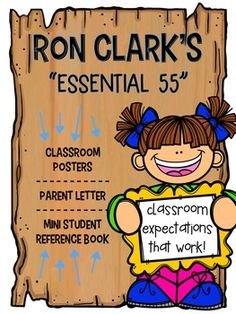 "Using Ron Clarks ""Essential 55"" has dramatically impacted my classroom for the better. The students in my class are kind, gracious and respectful. Administrators and other colleagues are blown away with my students courtesy throughout the building. Parents are raving about their new kids."