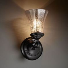 Fusion Tradition Matte Black Wall Sconce Justice Design Group 1 Light Bath Lighting Wall L