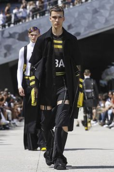 Hood By Air @ Paris Menswear Spring Summer 2016 Primavera Verano #Menswear #Trends #Tendencias #Moda Hombre