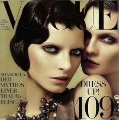 Marcel Waves on Vogue