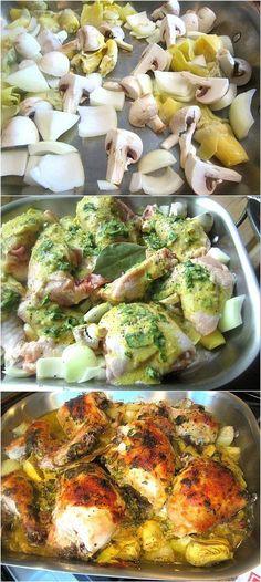 Baked Artichoke Chicken Recipe