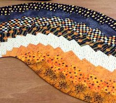 Halloween Spicy Spiral Fat Quarter Bundle by Creative Quilt Kits at Creative Quilt Kits