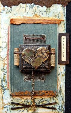 ⌼ Artistic Assemblages ⌼  Mixed Media  Collage Art - Second Hand  Seth Apter