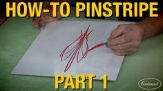 How To Pinstripe: Custom Pinstripes with Rick Harris & Kevin Tetz - Pt.1...