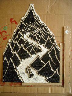 Linoprint- my favourite craft/ art