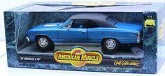 1967 Chevelle L-78 ~ 1:18 scale ~ Ertl - American Muscle - Diecast Car Blue NIB