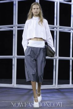Alexander Wang Ready To Wear Spring Summer 2014 New York - NOWFASHION