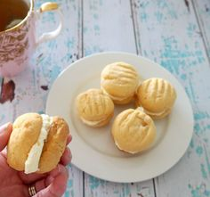 Melting Moments Biscuit Recipe, both Thermomix and conventional instructions included.