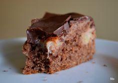 ...my little world: korenený hruškový koláč s čokoládou