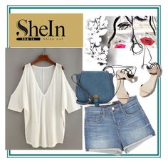 """""""SheIN-She's All That"""" by lerolero988 ❤ liked on Polyvore featuring J Brand, 3.1 Phillip Lim, Nanette Lepore, Élitis and Oliver Gal Artist Co."""