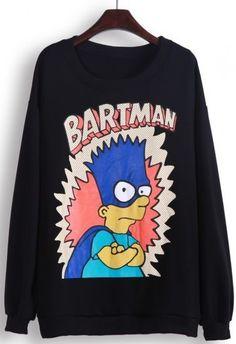 The Simpsons: Bartman sweater!