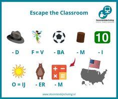Training Escape the Classroom In een Escape the Classroom lost een groepje leerlingen een aantal spannende puzzels op. Ondertussen wordt er van alles geleerd; letterlijk spelenderwijs leren. Escape the Classroom is er voor alle leeftijden, niveaus en over elk denkbaar onderwerp. Je leerlingen krijgen er enorm veel leerplezier van! #kraakdecode #escapetheclassroom #escaperoom #aardrijkskunde Escape Room, Escape The Classroom, Parent Night, Diy Camping, Brain Teasers, Diy Party, Survival Stuff, Survival Gear, Teaching