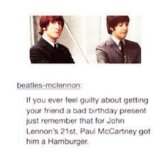 John and Paul's friendship <3