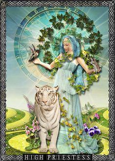 tarot---high-priestess by patty.dennis, via Flickr