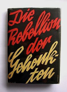 Book cover by Emil Zbinden (1936)