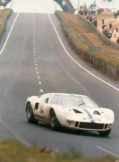 Le Mans Test 1966 . Ligier / Greder / Giorgi , Ford GT40