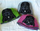 Adult Size Darth Vader Hat - Made to Order - Any Color - Plain Brim, Cuff, or Visor - FREE SHIPPING. $20.99, via Etsy.