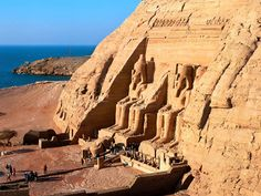 Abu Simbel near Aswan, Egypt