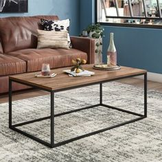 Ophelia & Co. Aldora Gray Area Rug & Reviews | Wayfair Coffee Tables For Sale, Lift Top Coffee Table, Coffee Table With Storage, Farmhouse Area Rugs, Magazine Table, Coffee Table Wayfair, Contemporary Coffee Table, Modern Rustic Interiors, End Tables