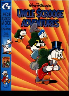 SEALED Walt Disney's Uncle Scrooge & Donald Duck Comics CARL BARKS Library of Uncle Scrooge McDuck Comics Stories in Color #2 N M With Card