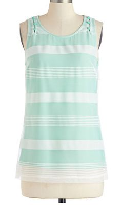 Striped tank in #mint http://rstyle.me/n/h79jdnyg6