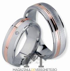 Verighete mdv77Verighete aur alb si aur galben MDV700 #verighete #verighete7mm #verigheteaur #verigheteauraplicatie #magazinuldeverighete Wedding Couples, Wedding Rings, Engagement Rings, Model, Jewelry, Diamond, Enagement Rings, Jewlery, Schmuck