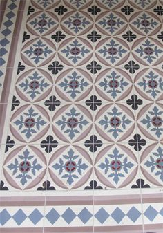 Modern and traditional encaustic cement tiles factory Floor Patterns, Tile Patterns, Terracotta Floor, Welcome To My House, Best Flooring, House Tiles, Tile Design, Mosaic Tiles, Living Room Designs