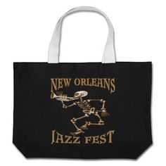 Jazz Fest Skeleton Bags
