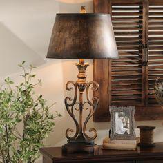 Scroll Table Lamp | Kirklands