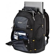 #Ebay #Backpack #17Inches #Laptop #Gear #Notebook #Rucksack #Travel #Black #Gray #Bag #Case #Zip  #Targus
