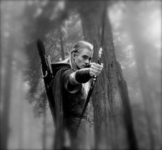 Legolas in Lord of the Rings.