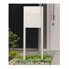フラット横型ポスト(前入・前出タイプ)用 オプション商品。ポスト本体がなければご使用できませんのでご注意下さい。 画像のポストは付属いたしません。 Mailbox, Arch, Outdoor Structures, Mirror, Outdoor Decor, Home Decor, Mail Drop Box, Longbow, Decoration Home