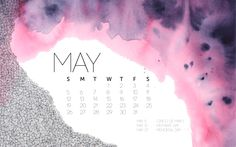 Free May 2013 Desktop Background Calendar