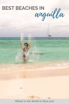 Here are some of the best things to do in Anguilla including a list of the most popular and gorgeous Anguilla beaches to visit. Destin Beach, Beach Trip, Beach Travel, Travel Goals, Travel Plan, Travel Advice, Travel Guides, Travel Tips, Beautiful Islands