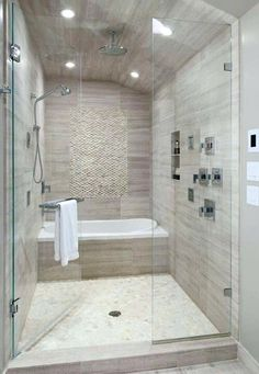 New Trend Soaking Tubs Within Large Walk In Showers Don Gardners Castille Plansoaker Tub Shower Combo Small Combination