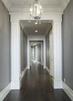 grey walls dark floors | Dark Hardwood Flooring Grey Walls 8bf8859020f7e5c4139009bc32b12 ...