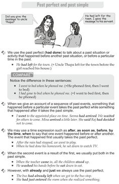 Grade 10 Grammar Lesson 8 Past perfect and past simple