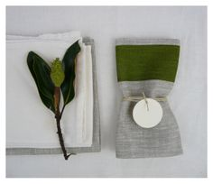 LINEN NAPKIN  hand screen printed linen  by CelinaMancurti on Etsy, $12.00