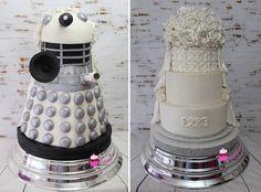 dalek wedding cake. WOW!!