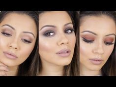 Urban Decay Naked Ultimate Basics Palette Tutorial THREE looks + SWATCHES & REVIEW - YouTube