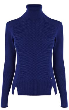 Karen Millen Texture and plain rollneck