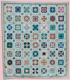 Free Tutorial - Patchwork of the Crosses Quilt by Moira and Diana