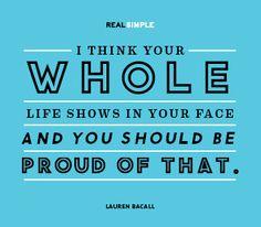 Lauren Bacall ♥