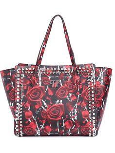 PHILIPP PLEIN 'Japan' Tote. #philippplein #bags #leather #hand bags #tote