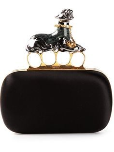 Shop Alexander McQueen 'Knucklebox' clutch in Biondini Paris from the world's best independent boutiques at farfetch.com. Over 1000 designers from 60 boutiques in one website.